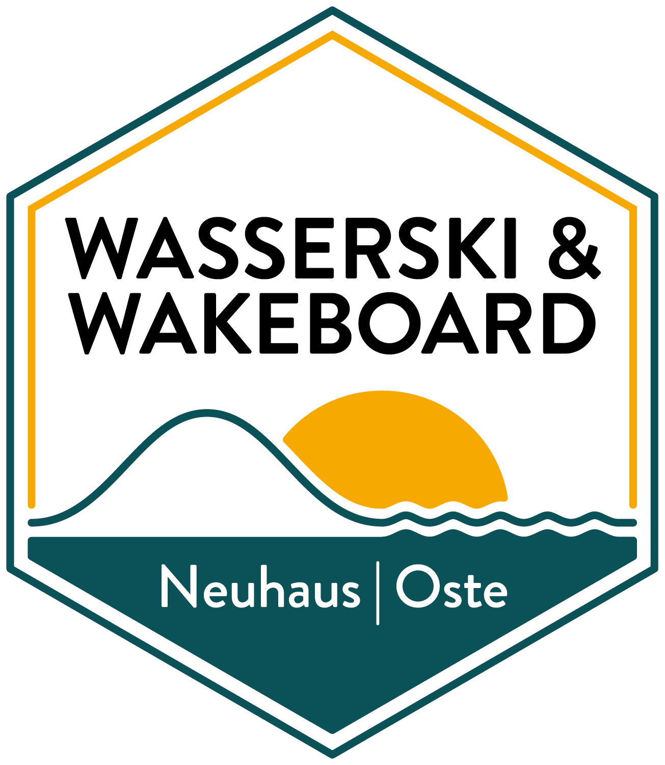 Wasserski&Wakeboard Neuhaus Oste – Corporatedesign Logo